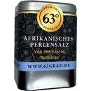 63 Grad - Afrikanisches Perlensalz - Grobe Salzperlen für die Salzmühle