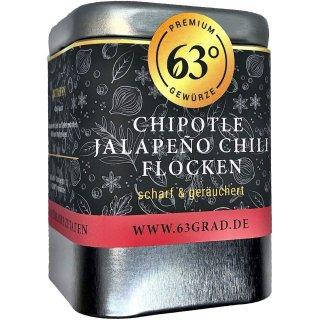 Chipotle Jalapeño Chili Flocken - Geräucherte Chili aus Mexico
