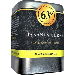 Fruchtiges Bananen Curry - Gewürzzubereitung