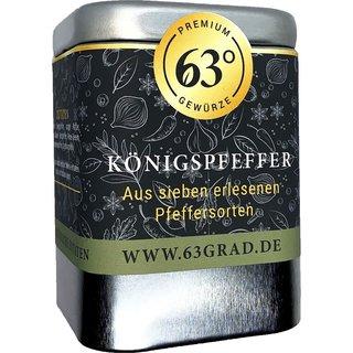 Königspfeffer - Mischung 7 erlesene Pfeffersorten - Die Krönung