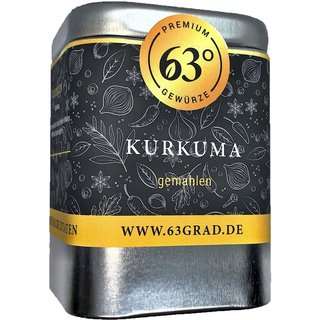 Kurkuma, gemahlen in Premium Qualität