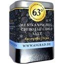 Mexikanisches Chipotle Chili Salz - Scharfes Gewürzsalz