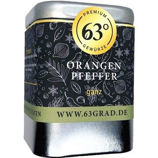 Orangenpfeffer - ganze weiße Pfefferkörner