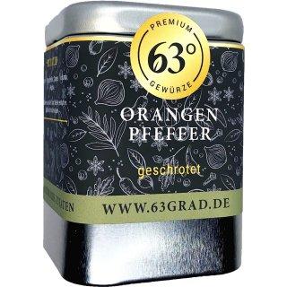 Orangenpfeffer, geschrotet