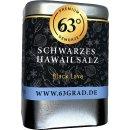 Schwarzes Hawaii Salz - Black Lava Salt - Grob