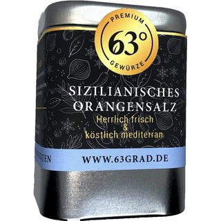 Sizilianisches Orangensalz - Gourmetsalz mit intensivem Orangen-Aroma