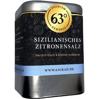 Sizilianisches Zitronensalz - Gourmetsalz mit intensivem Zitronen-Aroma