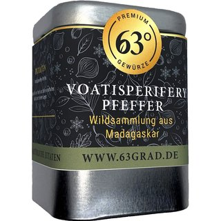Voatisperifery Pfeffer - Wilder Madagaskar Urwald Pfeffer (60g)