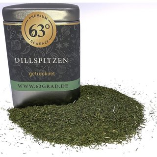 Premium Dillspitzen - Dill, Dill-Spitzen - getrocknet geschnitten (30g)