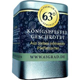 Königspfeffer geschrotet - Exclusive Gourmet - Pfeffermischung (80g)
