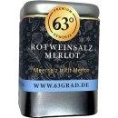 """Premium Rotweinsalz """"Merlot"""" - Grobes Meersalz..."""