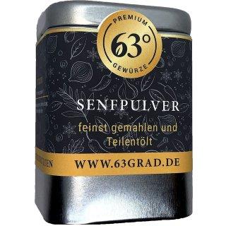 Senfpulver - Senfmehl 100% naturrein aus Senfkörnern, Senfsaat schonend getrocknet und gemahlen, natürlich ohne Zusätze (80g)