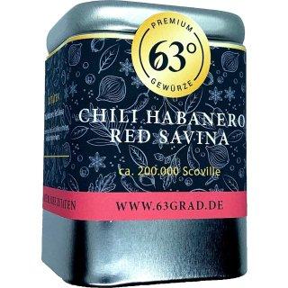 Habanero Chili Red Savina gemahlen - richtig scharfes Chili (50g)